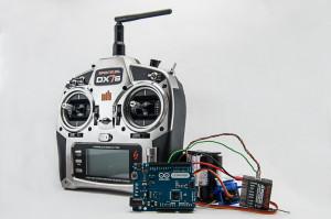 Ardunio hacked remote control