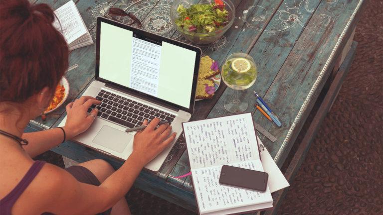 User reading Ag Days custom digital newsletter