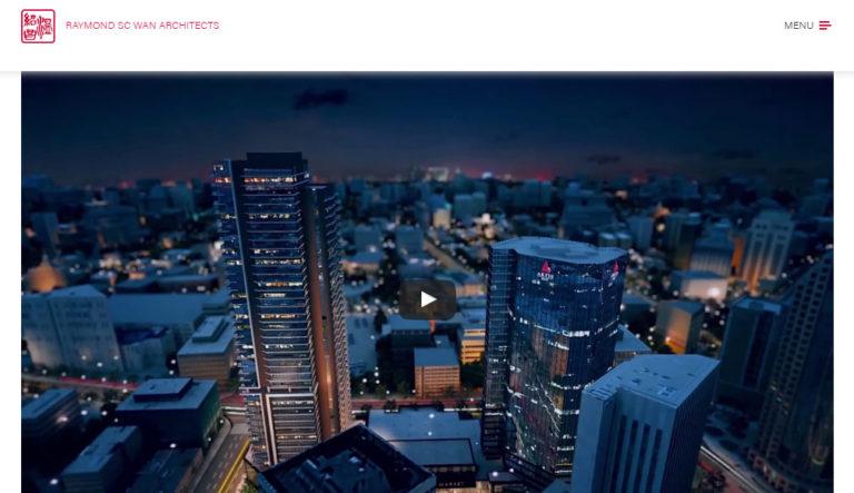 Raywan Website Interactive Home Slider