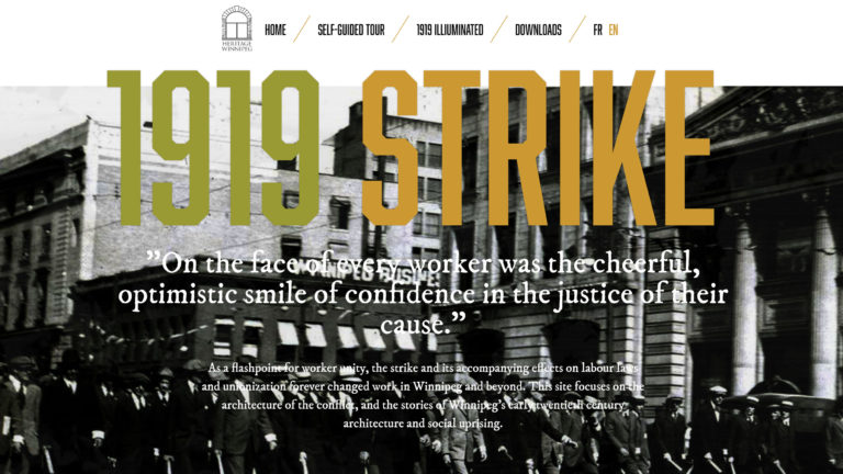 1919 Strike - home page
