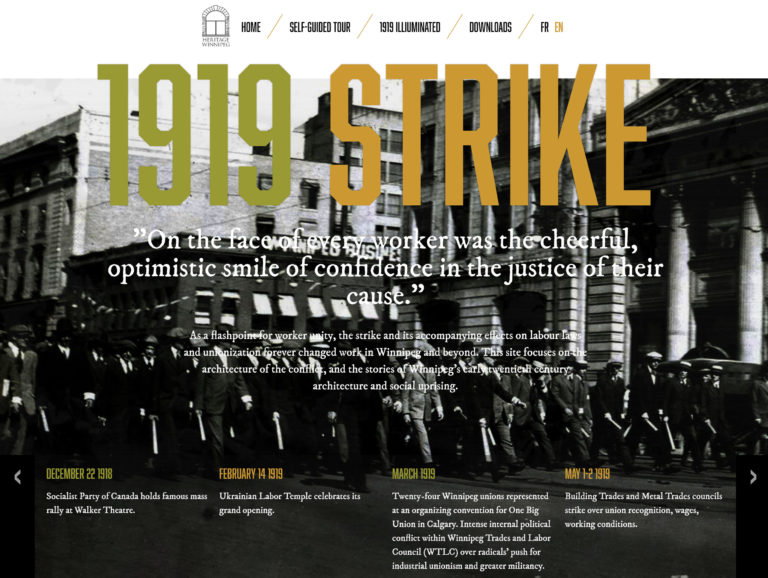 1919 Strike website
