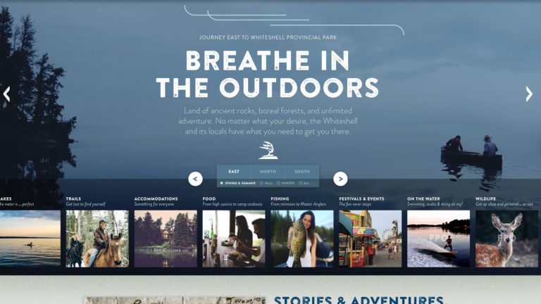 Explore Whiteshell Homepage